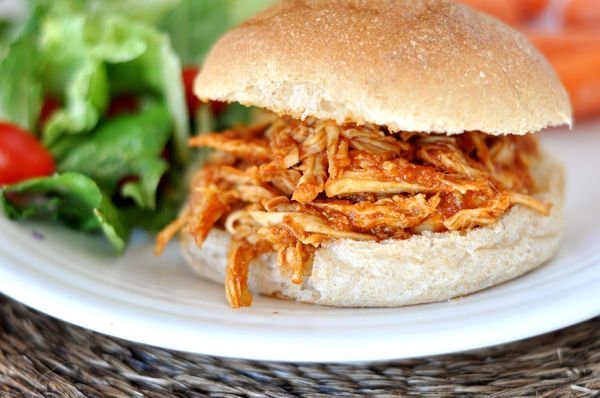 BBQ Pulled Chicken Sandwiches (Slow Cooker) | Recipe