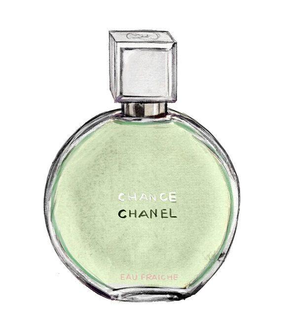 chanel perfume print chanel chance eau fraiche. Black Bedroom Furniture Sets. Home Design Ideas