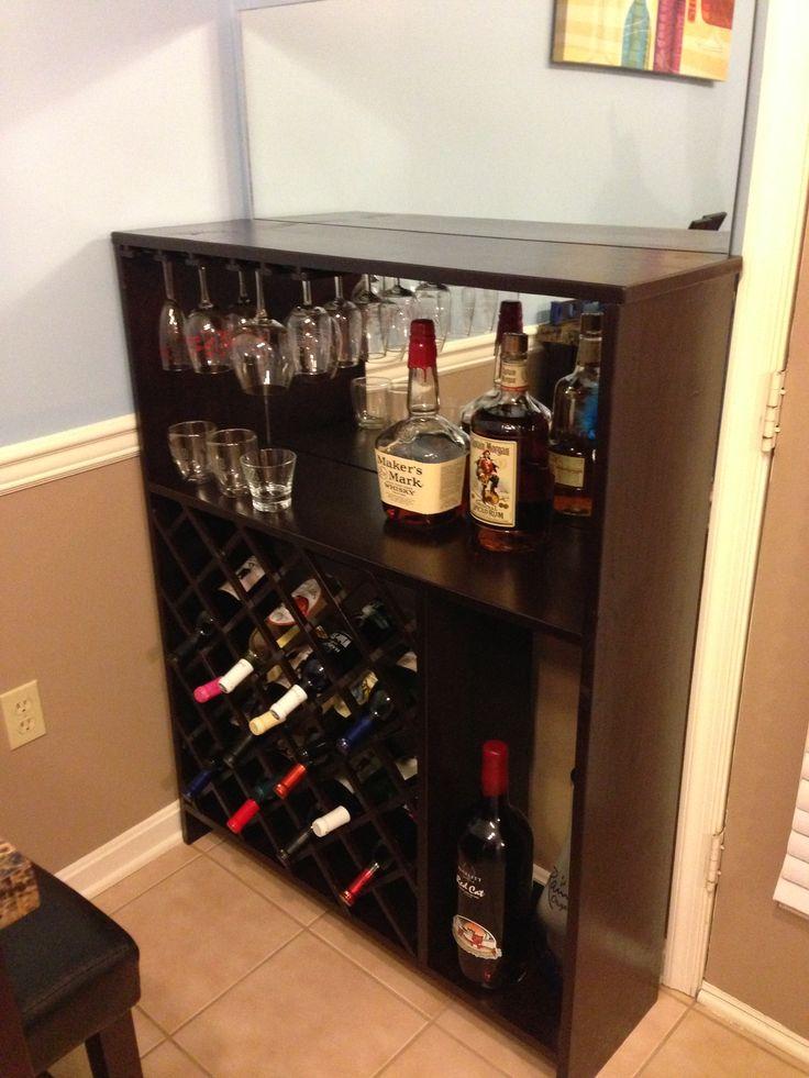 Homemade wine rack cute projects pinterest for Easy homemade wine rack
