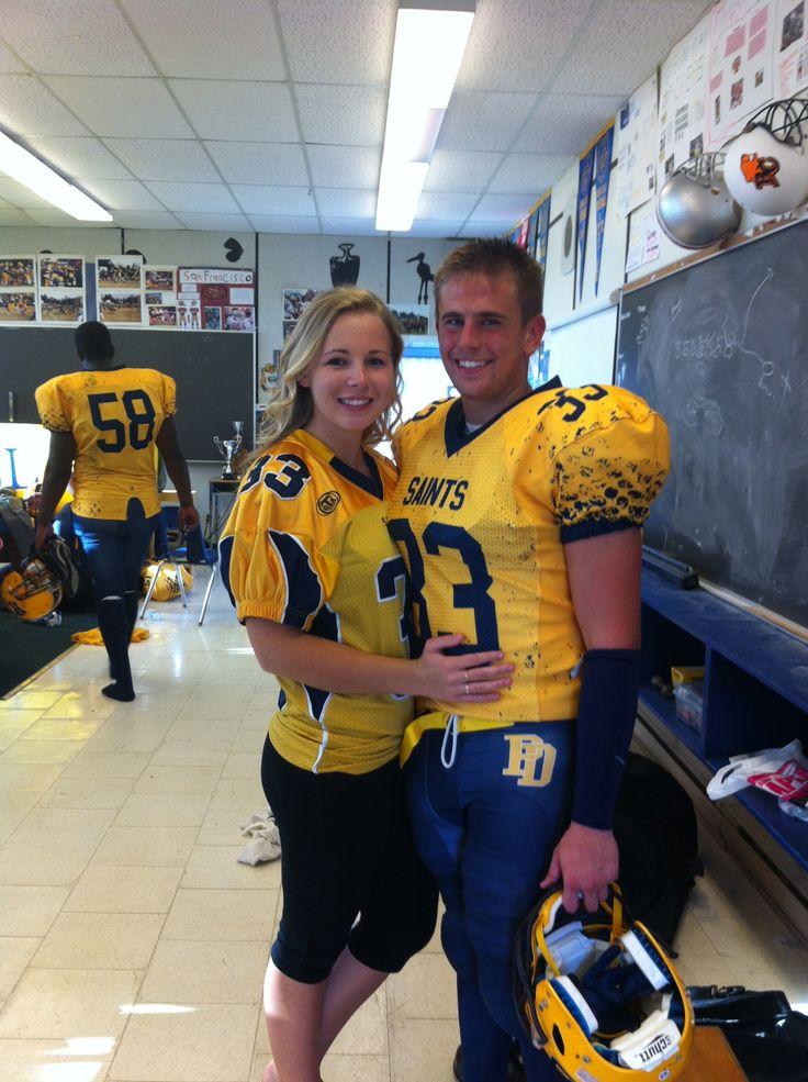 Cute football couples