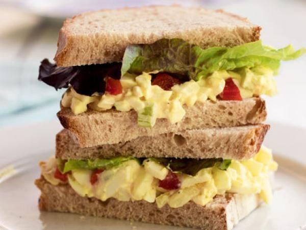 Egg Salad Sandwich Recipe | http://aol.it/1g1XWST #Classic