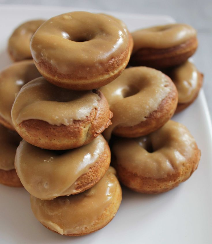 Mary Nersessian – Gingerbread mini donuts with maple frosting