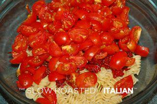 Tomato Feta Pasta Salad | Yummy recipes | Pinterest