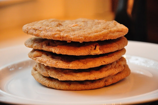 Salty, butterscotch-toffee cookies | Food | Pinterest