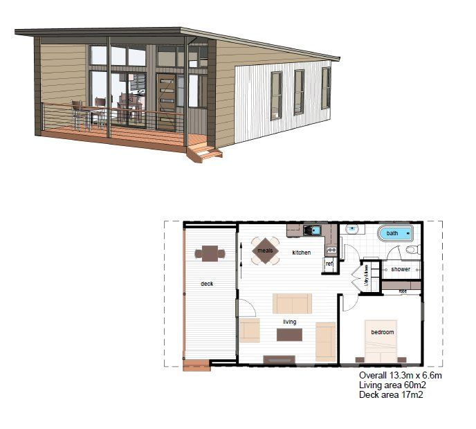 Granny pod for Pod style house plans