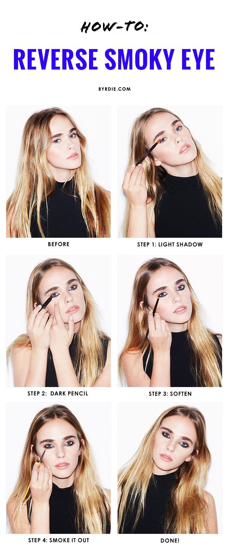Makeup Tutorial: The Reverse Smoky Eye