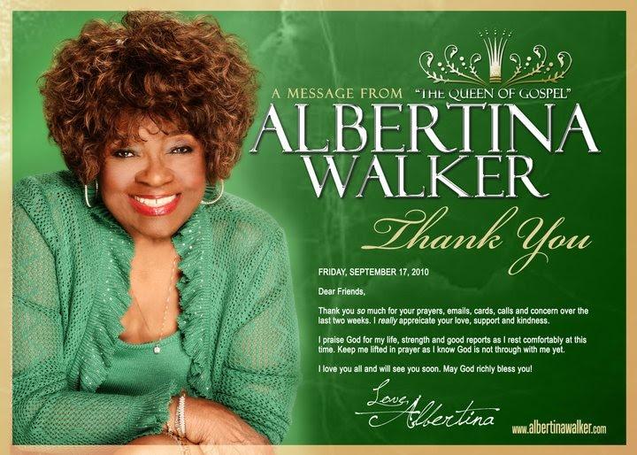 Albertina Walker - You Believed In Me