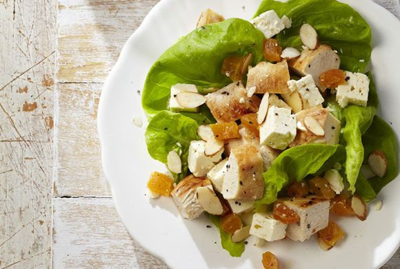 Apricot, Chicken and Almond Salad - instead of apricots use ...