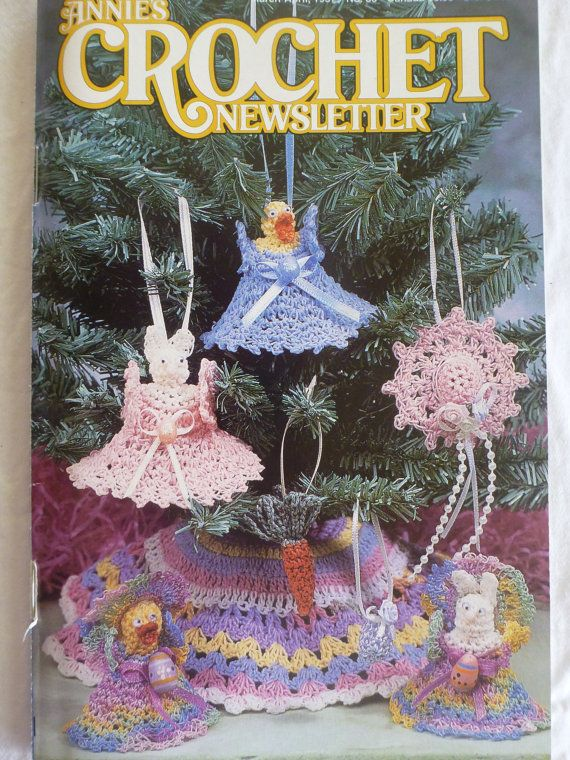 Annies Crochet Newsletter March/April 1997 by CarolsCreations77, $4.50
