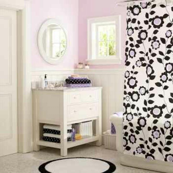 Teenage girl bathroom ideas