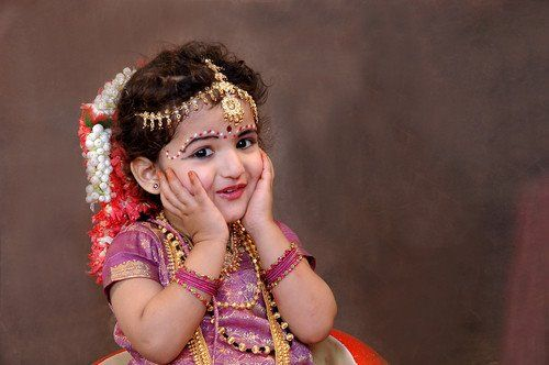 Lovely traditional girl, India