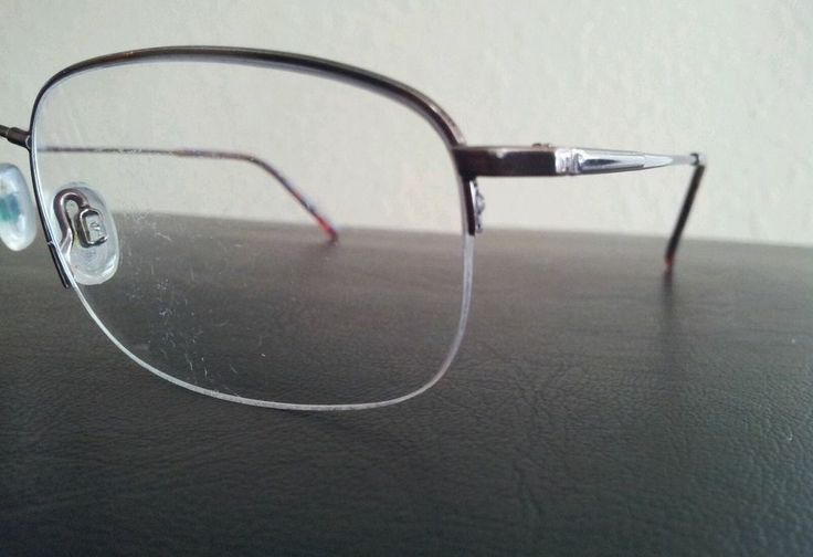 Marchon Flexon Mens Coffee Brown Titanium Eyeglass Frames