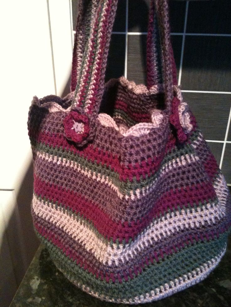 Crochet Project Bag Crochet Pinterest