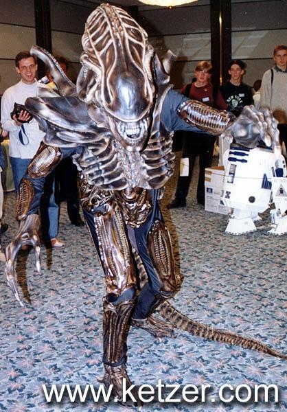 alien movie robot suit costume