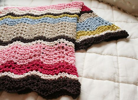 Bring-it-on baby blanket Knitting Pattern.  SO easy.  Making one for TK - starting it this week for shiz!!