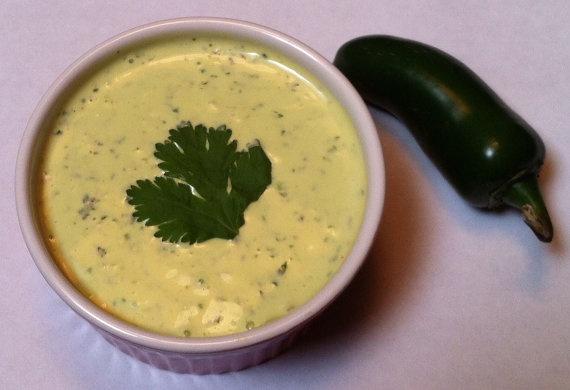 Creamy Spicy Jalapeno Mango Ranch Dressing/Dip... http://www.etsy.com ...