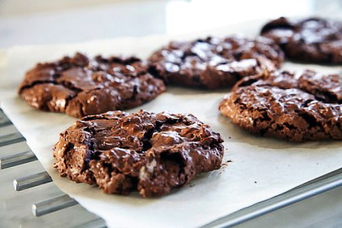 double dark chocolate cookies. | Food/Drinks/Recipes | Pinterest