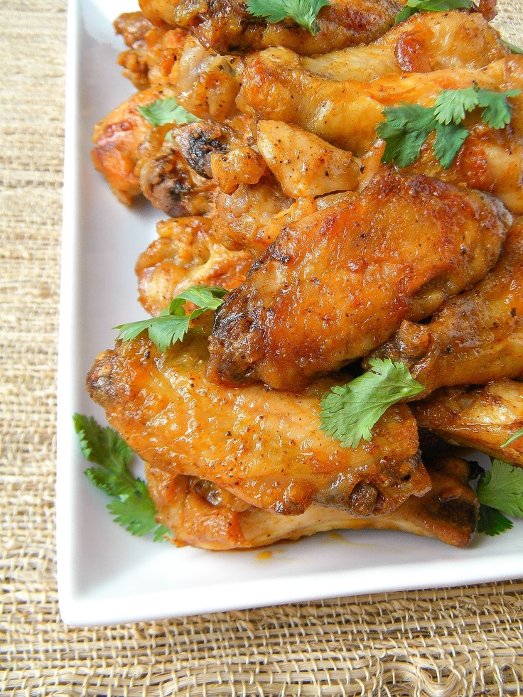 Spicy Thai Chicken Wings | Chicken wings | Pinterest
