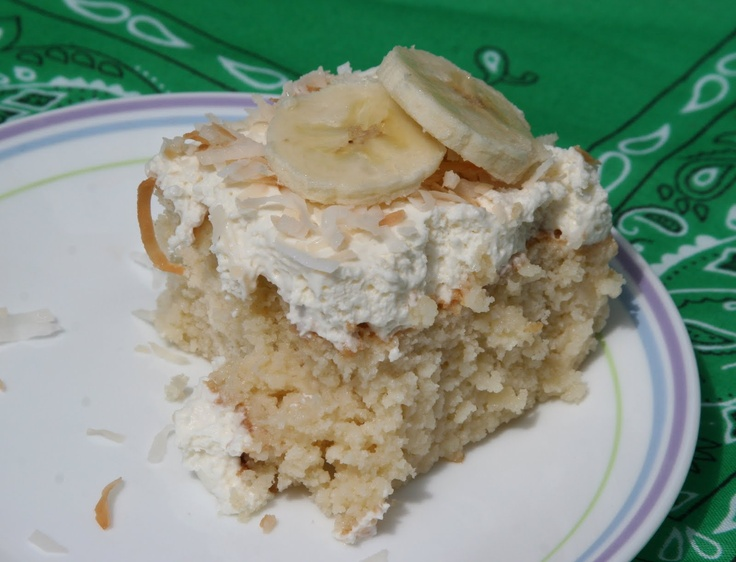 Coconut Tres Leches Cake | Yummy Foods | Pinterest
