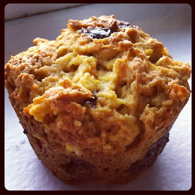 Orange chocolate muffins! | Num Nums | Pinterest