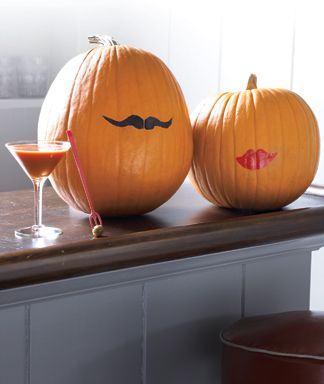 no-carve sassy pumpkins