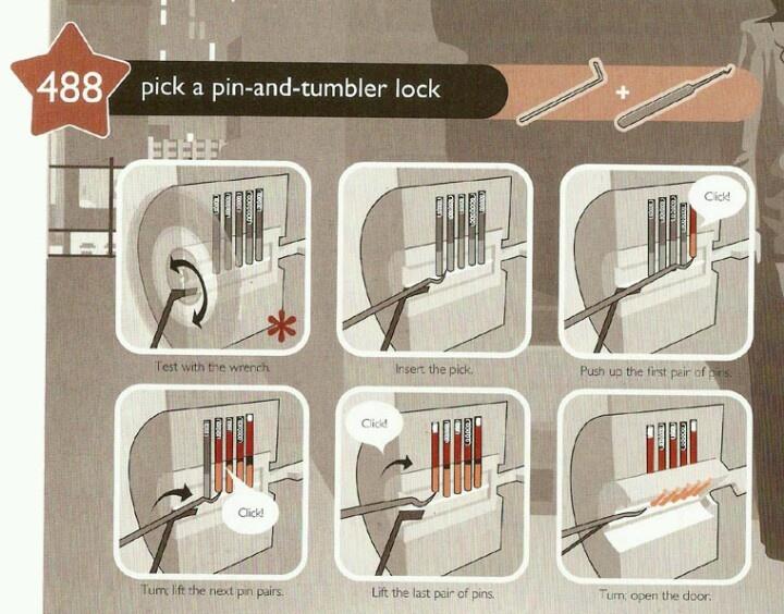 how pick lock
