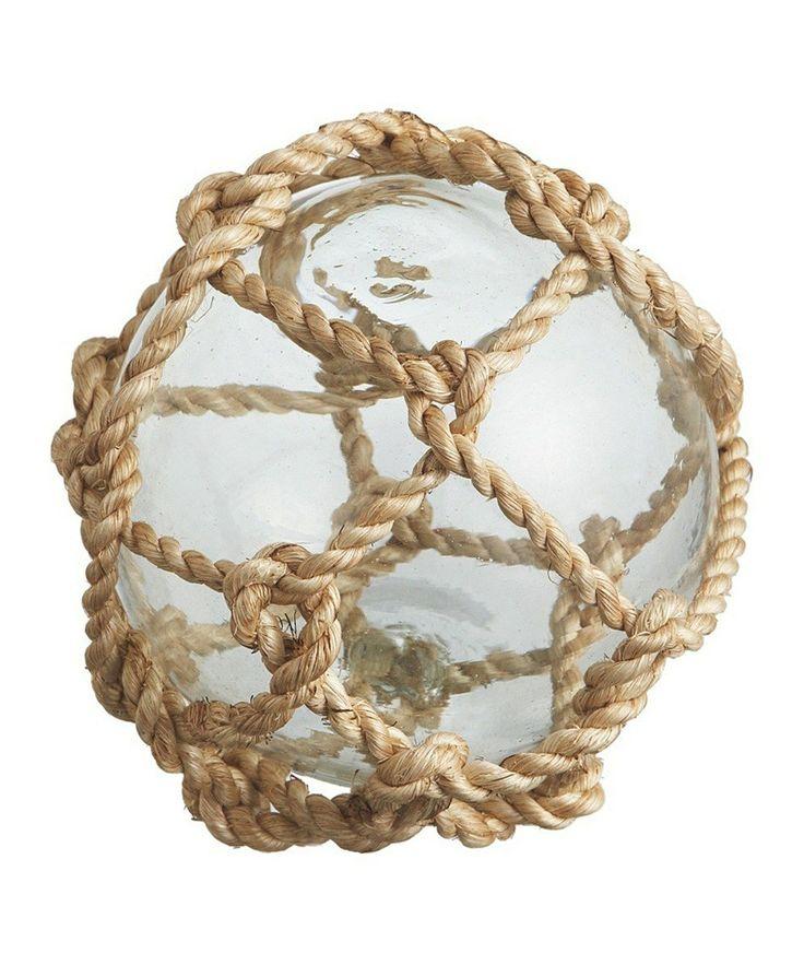 Nautical Rope Decor Items: Nautical Rope Ball Décor