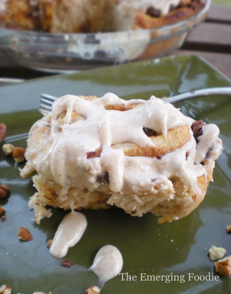 Cranberry Pumpkin Cinnamon Rolls with Maple Cream Cheese Icing - The ...