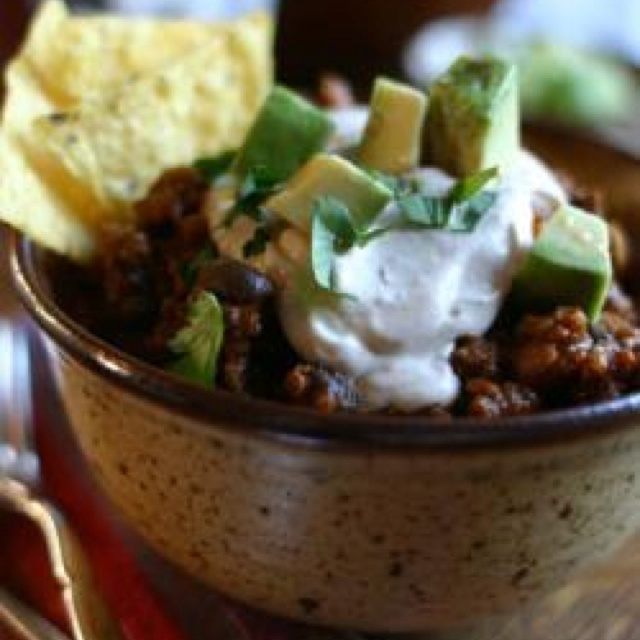 bean chili recipes dishmaps chipotle beef and bean chili recipes ...