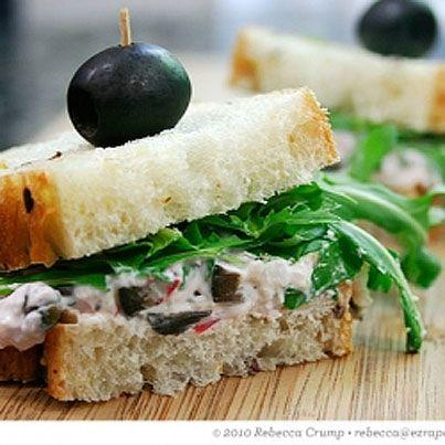 Radish Sandwiches | Tea's, tea pots & tid bits | Pinterest