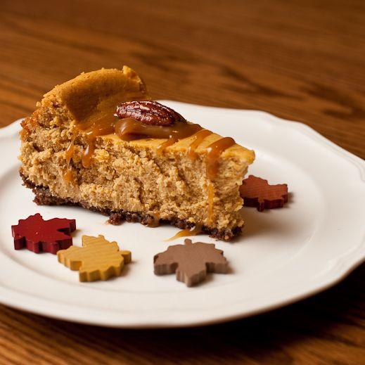 Pumpkin Pie Cheesecake - This cross between a creamy, fluffy ...