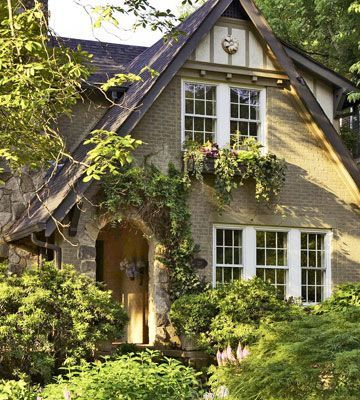 Tudor cottage home ideas pinterest - Wood and stone house plans a charming symbiosis ...