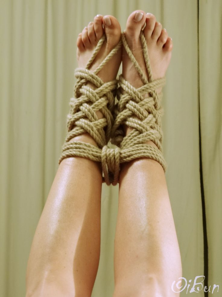 Booby binding rope play part 1 4