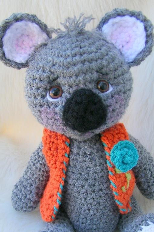 Crochet Pattern Koala Bear : Koala Bear, Simply Cute Crochet Pattern All Things ...