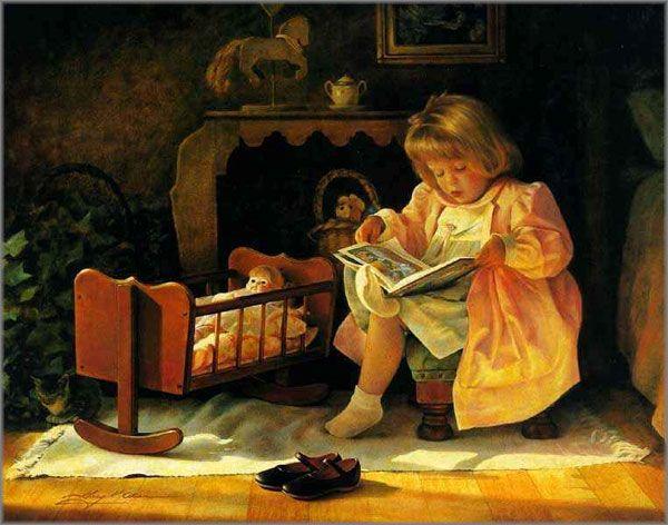 Little Girls will be Mothers - Greg Olsen