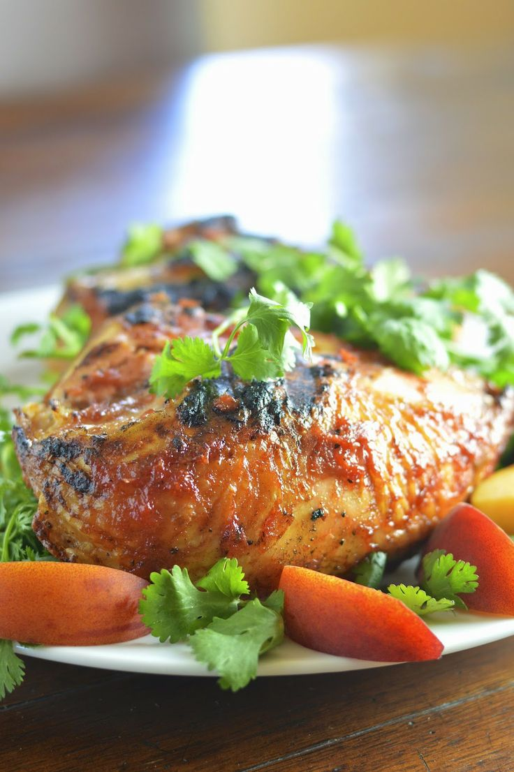 Homemade Spicy Peach Bourbon Barbecue Sauce is easy to make and ...