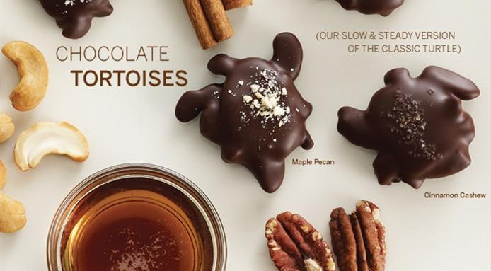 at a new range of # chocolate # tortoises read more http www ...