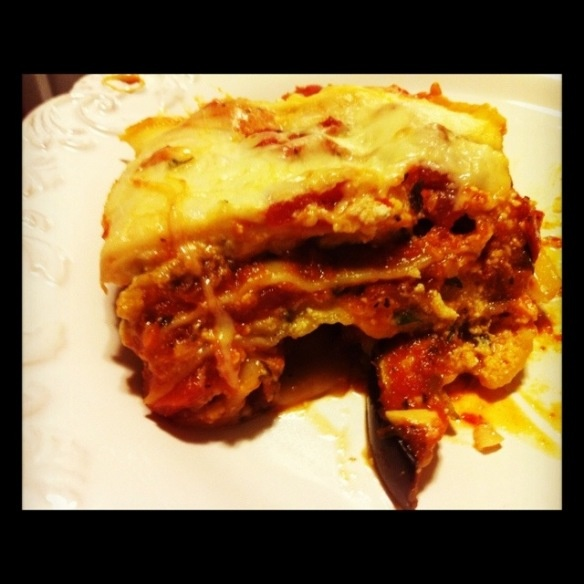 Eggplant Lasagna. Yum | Get in my BELLY! | Pinterest
