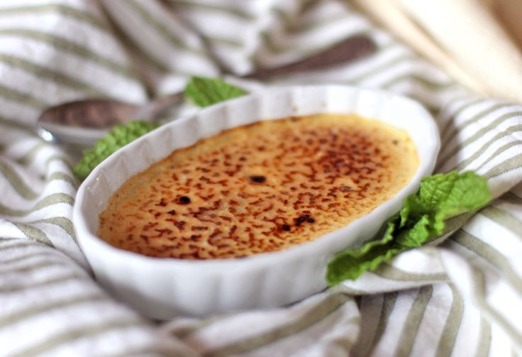 Healthy Homemade Creme Brûlée [low fat] | Recipe