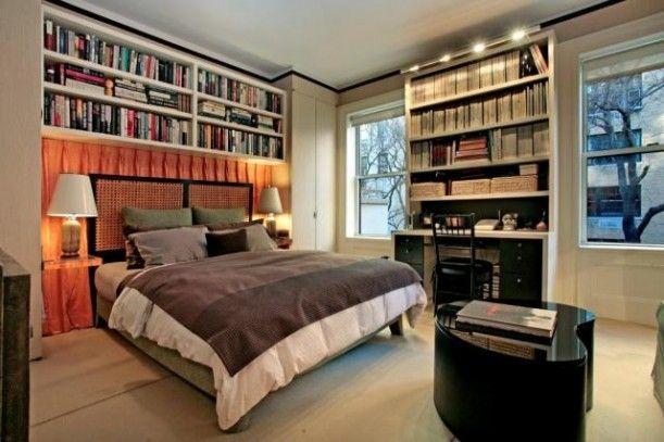 master bedroom bookcases bedrooms pinterest