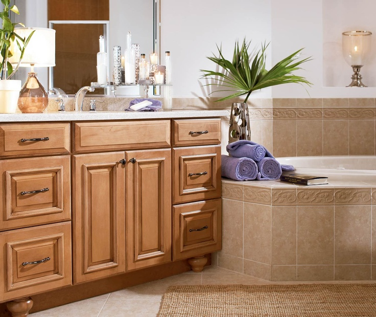 Durango maple mocha glaze bath bathroom ideas pinterest for Mocha bathroom ideas