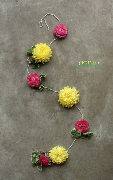 floral garland by oh joy