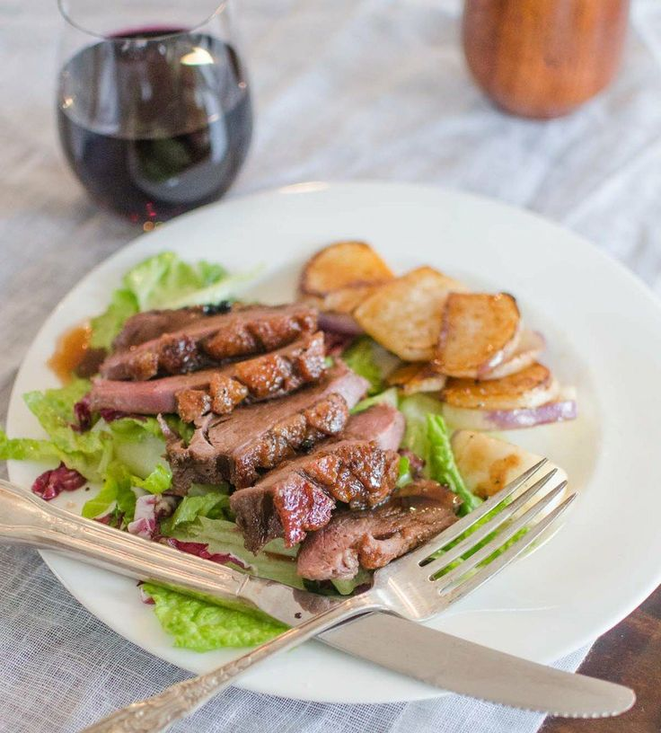 Dinner Recipe for Two: Duck Breast with Pomegranate-Citrus Glaze ...