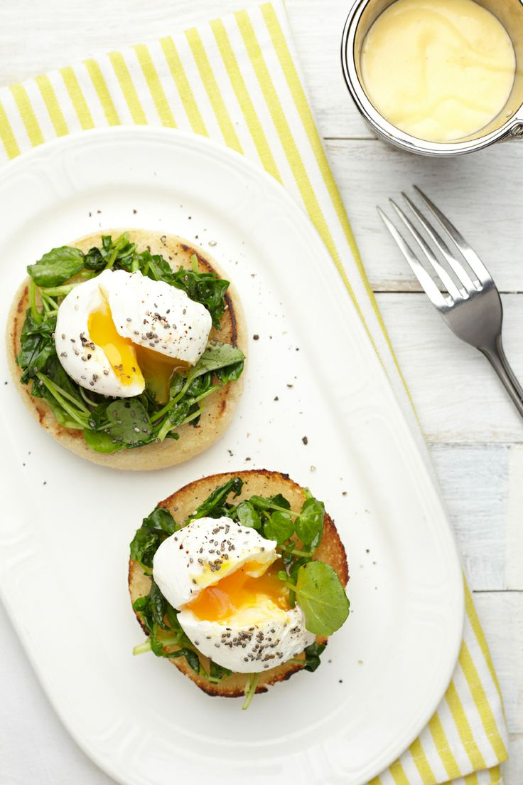Eggs Montagu - Bumpkin's healthy twist on Eggs Florentine, made with ...