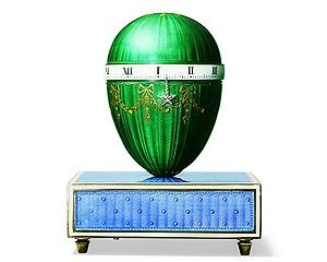 Cartier Enamel Clock, circa 1907.  Photo courtesy of Cartier Collection.