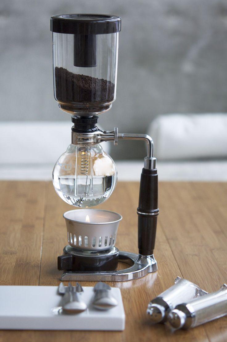 Siphon Coffee Maker Design Technology Pinterest