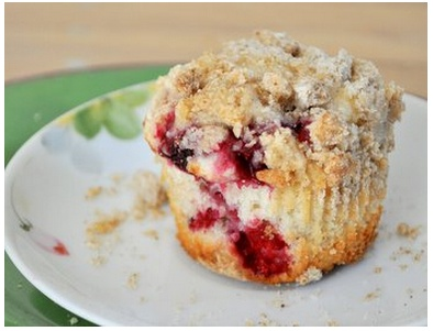 Raspberry Streusel Muffins | Breakfast | Pinterest