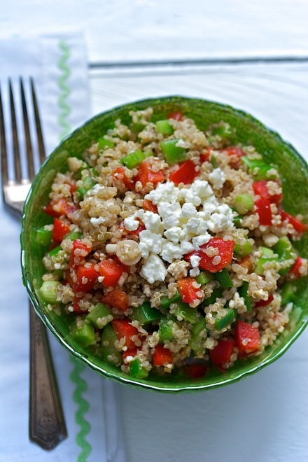 Quinoa Salad. Simple and delicious. | Food is Love | Pinterest