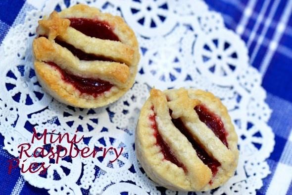 mini raspberry pies   Wedding Showers   Pinterest