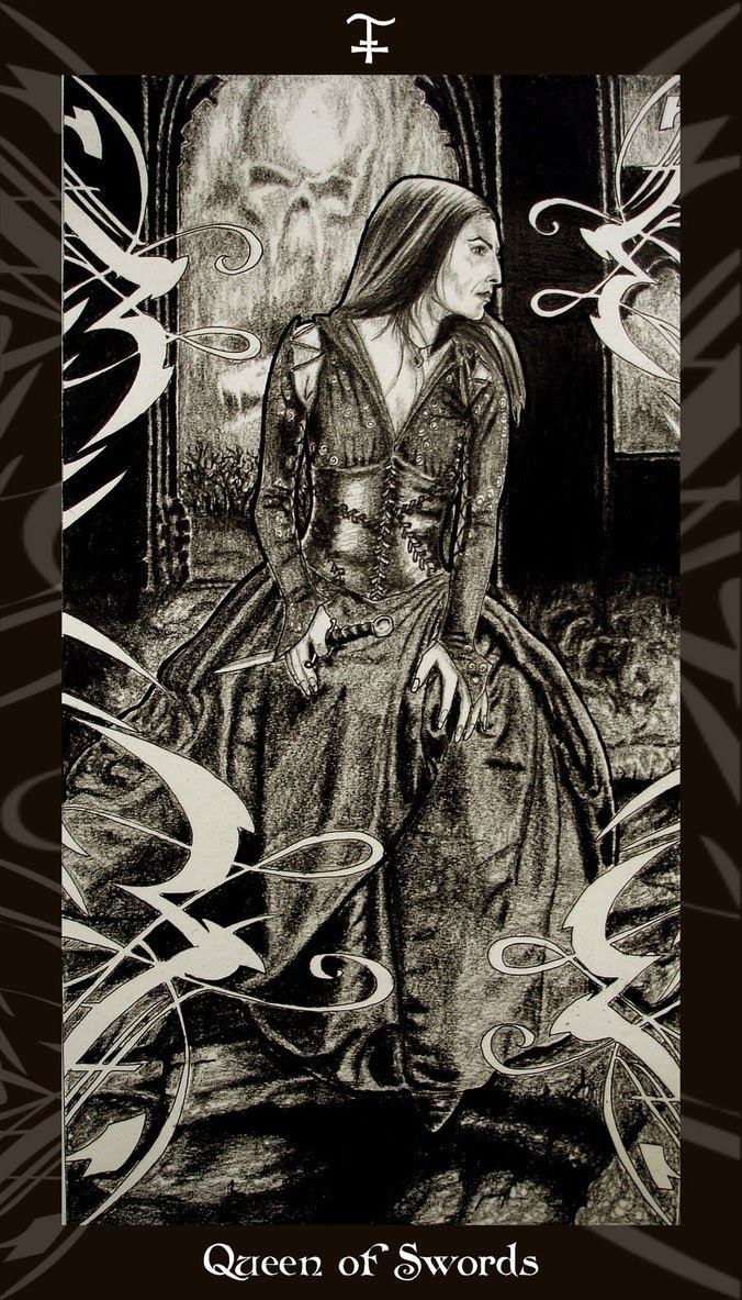 queen swords tarot work